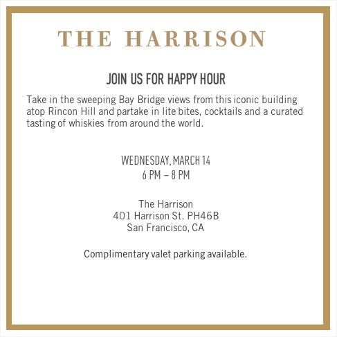 Jetsmarter exclusive happy hour at the harrison this invite is valid for a member 1 guest upon rsvp the invite is non transferable and capacity is limited stopboris Images